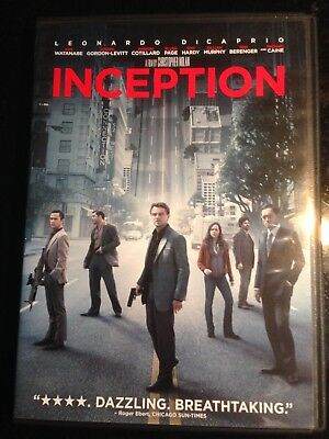 DVD Inception. Action!  Like new!
