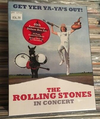 The Rolling Stones Get Yer Ya-Ya's Out [40th Anniversary Deluxe CD Box Set] New!