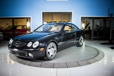 2001 Mercedes-Benz CL-Class CL600 2001 CL600 Used 5.8L V12 36V Automatic RWD Coupe Premium Bose