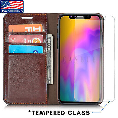 Leather Wallet Case For iPhone X XS Max Card Slot Flip Cover Case For iPhone XR