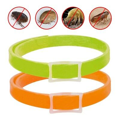 Flea and Tick Collar Dogs Rubber Kills Fleas Ticks Prevents 4 Months Protection