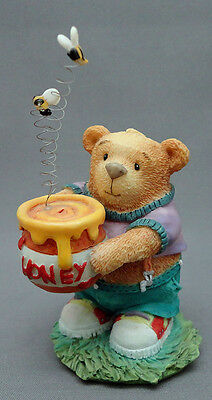 Tender Tucker Teddy Bear You Put The Buzz In My Honey Figurine 172820 Enesco