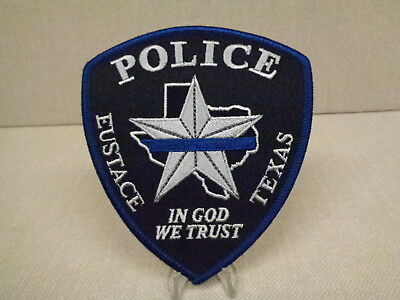 Eustace (Tx) Police Department Patch