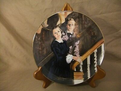 """GONE with the WIND """"MELANIE and ASHLEY"""" W.S. GEORGE #935A COLLECTOR PLATE"""