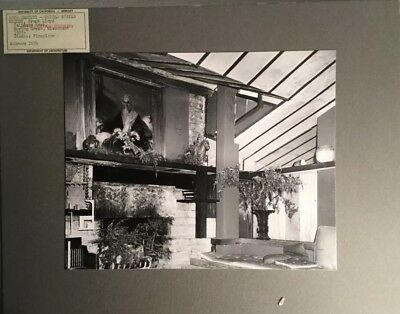 Original Photo UC Berkeley  Architecture - FRANK LLOYD WRIGHT Taliesin East