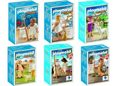 COLLECTIBLES Playmobil History Ancient Greek Gods 9523,9524,9526 9149,9150 BOXED