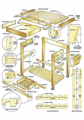 DIY Carpentry Woodworking Business 17gb 4 Dvds 100'000 Plans Make Own Furniture