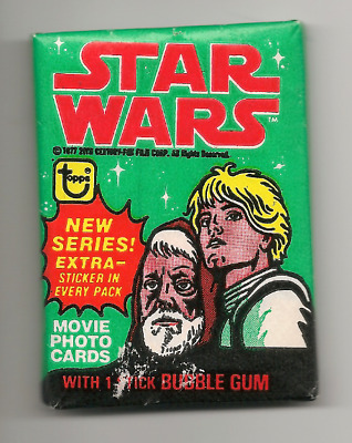 1977 Star Wars Topps Series 4 Wax pack free shipping