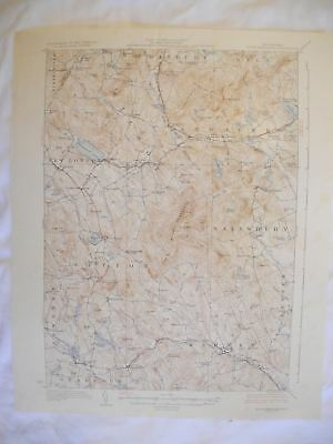 1928 Mount Kearsarge, NH New Hampshire USGS Topographic Topo Map