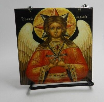 Religious Russian  Orthodox Icon Jesus Christ Hagia Hesychia  Winged Christ