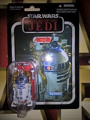 STAR WARS TVC THE VINTAGE COLLECTION 3.75in R2-D2 VC25 ACTION FIGURE MOC