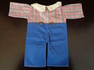 """Vintage Raggedy Andy (Ann) Doll Clothes for 15"""" 16"""" Georgene Novelties OLD 1940s"""