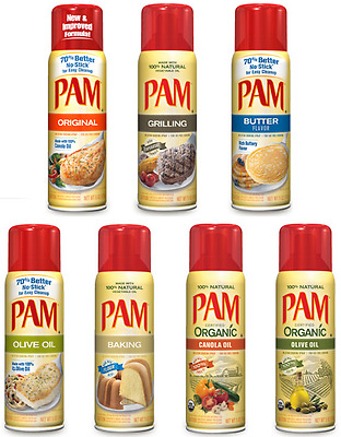 Pam No Stick Cooking Spray ~ Flavor Choices Pick One