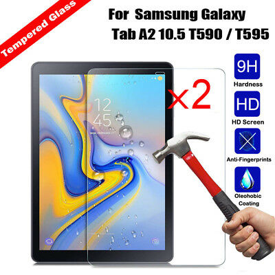 2x TEMPERED GLASS Screen Protector for Samsung Galaxy Tab A E J 3 4 Lite S S2 S3