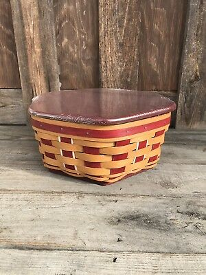 Longaberger 2016 Holiday Host Generations Set Bold Red/Warm Brown