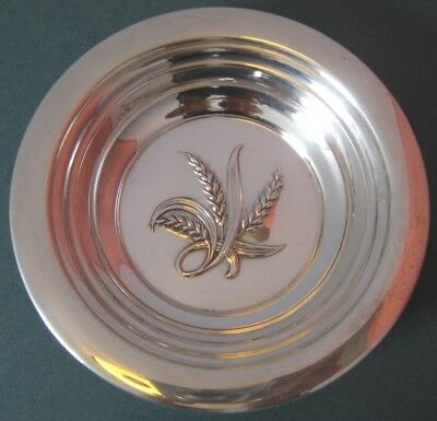 """Reed & Barton Sterling Silver Wheat Bowl X795 Never Engr'd; 88gr 6"""" dia. Vintage"""