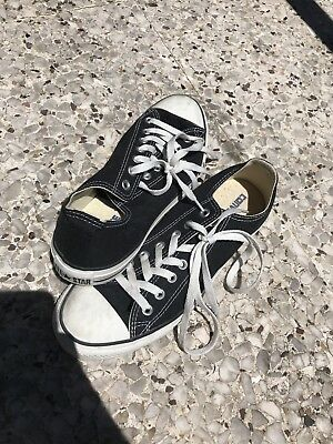 Converse All Stars Black And White Size US 9 Skate Shoe
