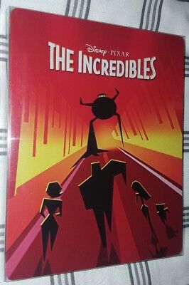 Disney's The Incredibles Steelbook (4K UHD + Blu-Ray) w/ Protective Sleeve