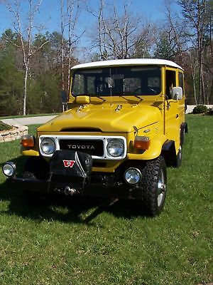 1979 Toyota Land Cruiser FJ40 1979 Toyota FJ40 Land Cruiser 1 Owner 28k Original Miles ONE-OF-A-KIND VERY RARE