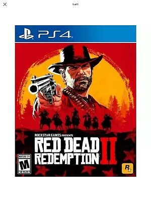 Red Dead Redemption 2 (Sony PlayStation PS4)  New/Sealed