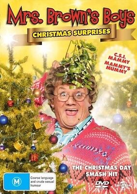 Mrs Browns Boys - 2018 Christmas Surprises (Dvd, 2018) 🍿 [Brand New & Sealed]