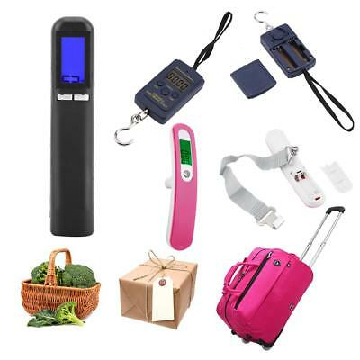 40KG/50kg Electronic Portable LCD Digital Weight Scale Hook Fish Hanging Luggage