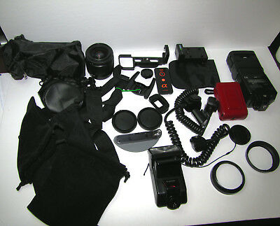 Huge Lot of Sony Canon Nikon accessories !!