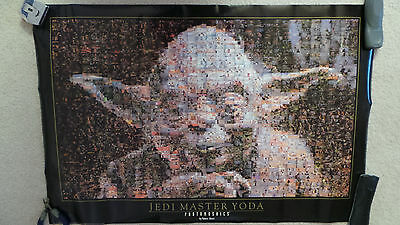 Star Wars - NEW - Yoda Poster made from 1,472 separate photos-Look at photos