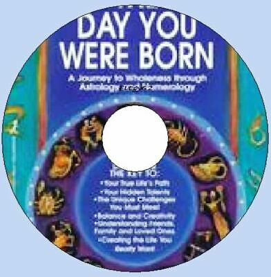 The Day You Were Born CD Rom Software