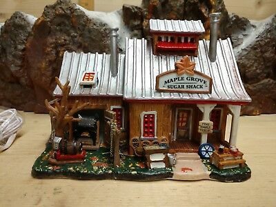 "Lemax Vail Village collection      "" Maple Grove Sugar Shack """