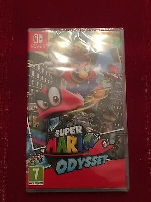 Super Mario Odyssey (Nintendo Switch, 2017) Brand New !! In time for Christmas