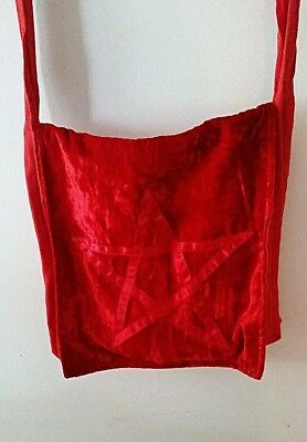 Pentagram Bag - wicca witchcraft magick witch pentacle