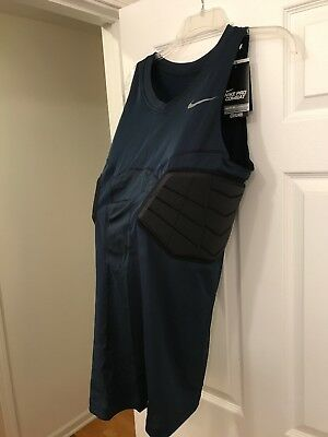 bab2317c211981 New Mens Nike Pro Combat Sz XL t Hyperstrong Compression Basketball tank  Blue