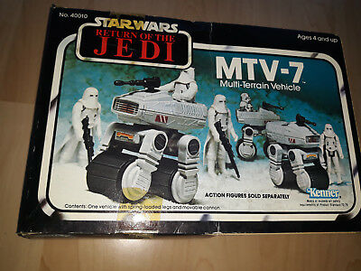 Star Wars Vintage-Return of the Jedi-MTV-7 Multi-Terrain Vehicle + Verpackung