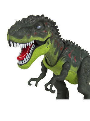 T-Rex Dinosaur Toy Figure With Lights & Sounds, Real Movement Kids Toy Walking