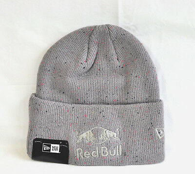 79bf2edea NEW ERA RED Bull Grey flecked beanie hat