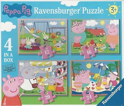 Ravensburger - Peppa Pig - Puzzle 4 in 1 Box 6958