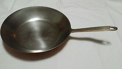"Vintage Paul Revere Ware USA 1801 Solid Copper 10½"" Open Skillet Frying Pan"