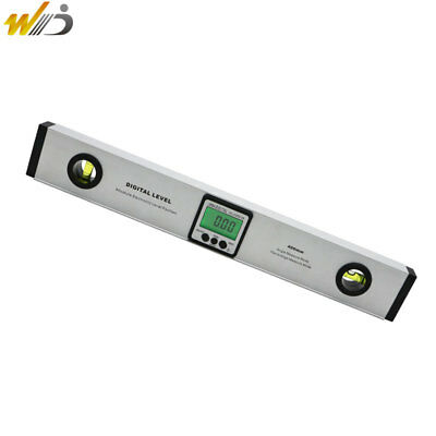 400 mm Dual Spirit Level LCD Digital Electronic Protractor Angle Finder Meter