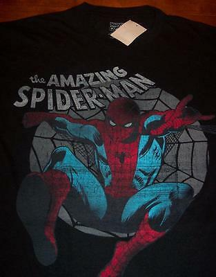 VINTAGE STYLE THE AMAZING SPIDER-MAN T-Shirt LARGE NEW w/ TAG  Marvel Comics