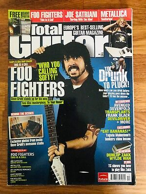 Total Guitar Issue #140 September 2005 - Foo Fighters