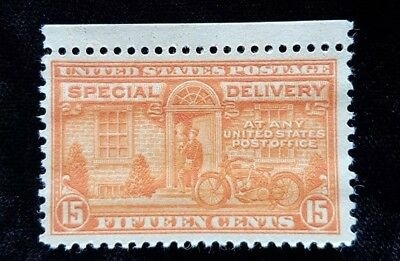 1931 US Special Delivery Stamp E16! Mint MNH Stamp - Motorcycle! Harley? Indian?