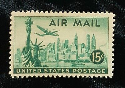 1946 US Airmail Stamps C35 Mint MNH! New York Skyline!
