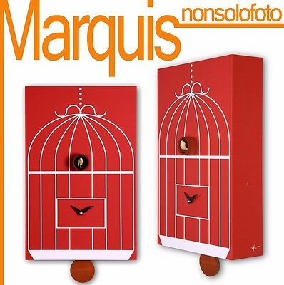 "watch cuckoo 202 "" Cage "" red watches Pirondini Time Marquis"