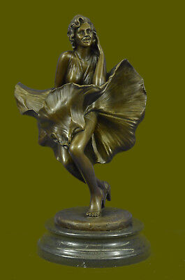 Handcrafted Original Limited Edition Marilyn Monroe Hot Cast Bronze Sculpture