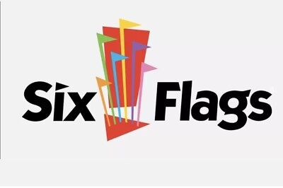Six Flags Theme Park / Single Day E-Ticket / 2018 Season / Various Locations