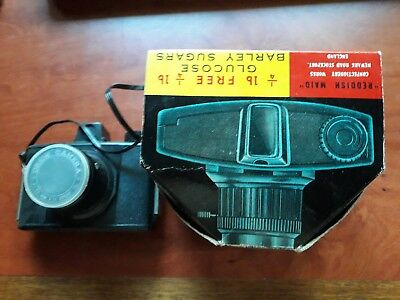 Vintage 1960s Orion Camera Reddish Maid Confectionary Promotion