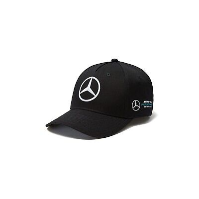 2018 Mercedes AMG Petronas F1 Adults Team Baseball Cap Hat BLACK – New OFFICIAL