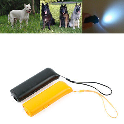 Ultrasound Dog Control Repeller Instructor Training Device 3 in 1 Anti-Bark Tool