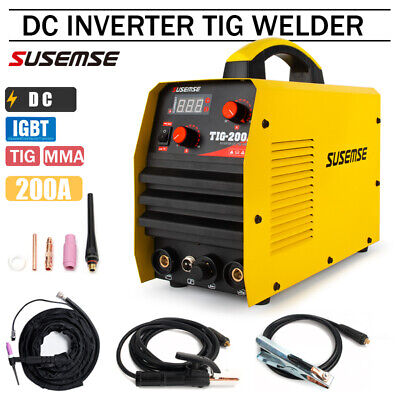 TIG200A TIG Welder ARC Stick Aluminum Welder 230V DC Inverter Welding Machine